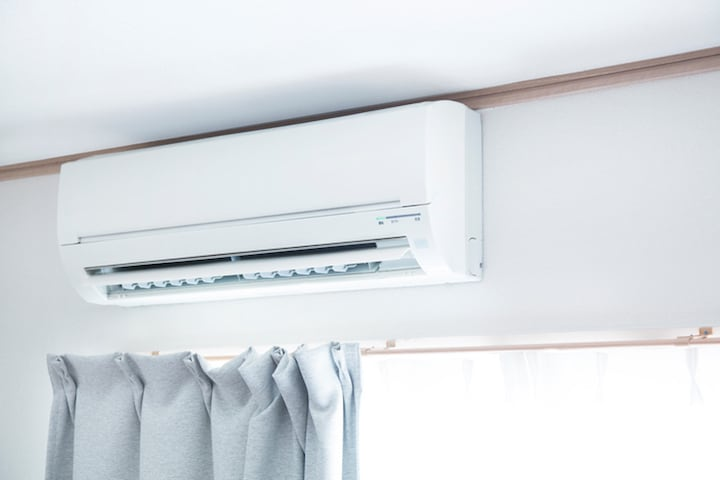 Warmtepomp met airco