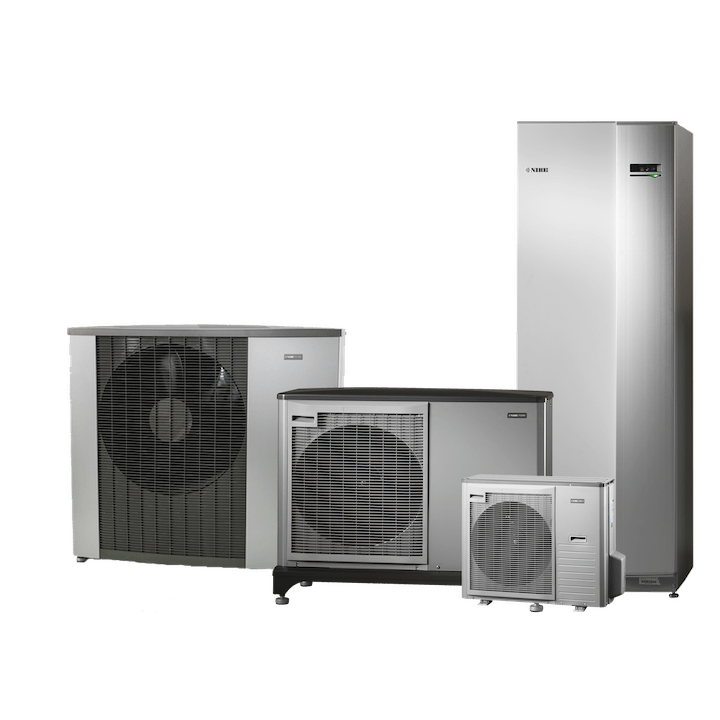 Voorbeelden en soorten lucht-water warmtepompen