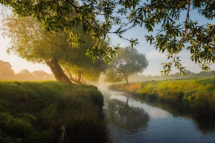 Water uit beek of rivier gebruiken